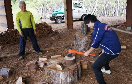 森のお仕事体験1