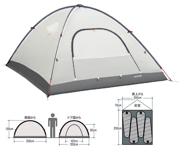テントの仕様